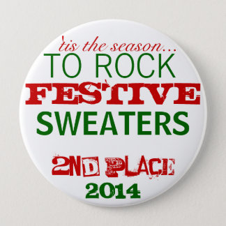 Ugly Sweater Prize Button
