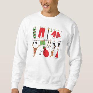 Ugly Sweater Santas Clothesline