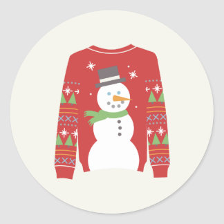 Ugly Sweater Sticker