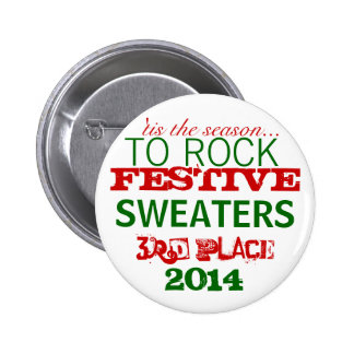 Ugly Sweater Winner Prize Button