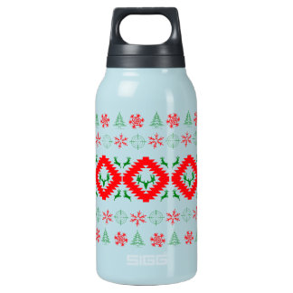 Ugly xmas 1 insulated water bottle