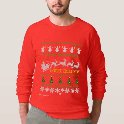 Ugly Xmas Beer Sweater After Christmas Sales 3286