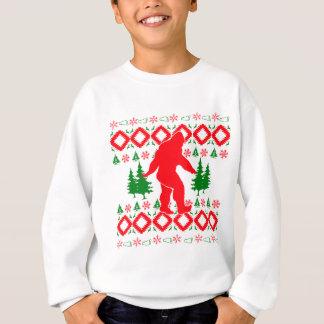 Ugly Xmas Bigfoot Sweatshirt