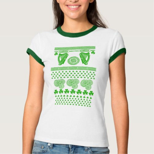 Ugly Xmas Sweater for St. Patrick's Day After Christmas Sales 5724
