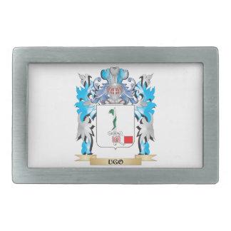 Ugo Coat of Arms - Family Crest Belt Buckle