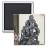 Ugolino and his Sons, 1860 2 Inch Square Magnet