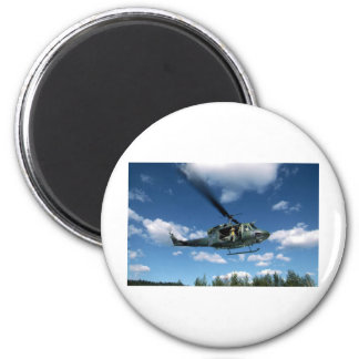 UH1 50 HELICOPTER 2 INCH ROUND MAGNET