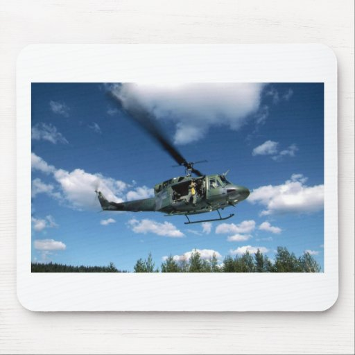 UH1 50 HELICOPTER MOUSEPAD