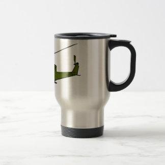UH-1 Huey - Color 15 Oz Stainless Steel Travel Mug