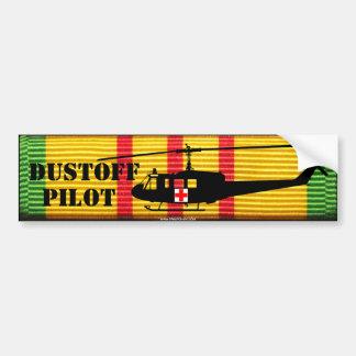 "UH-1 ""Huey"" DUSTOFF PILOT VSM Bumper Sticker Car Bumper Sticker"