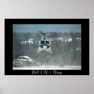 UH-1 Huey Hovering Print