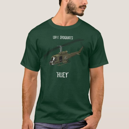 UH-1 Iroquois HUEY Helicopter Tee Shirt