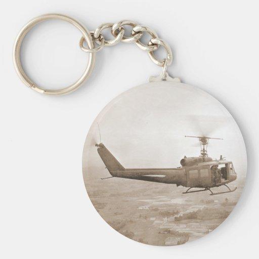 UH-1 Slick Key Chain