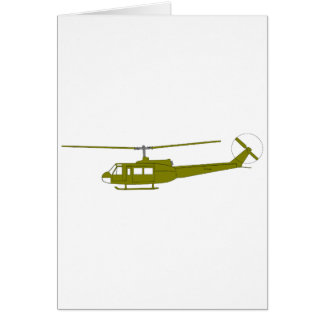 UH-1H 'Huey' Utility Helicopter Greeting Cards
