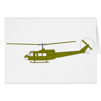 UH-1H 'Huey' Utility Helicopter Card
