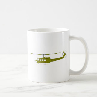 UH-1H 'Huey' Utility Helicopter Classic White Coffee Mug