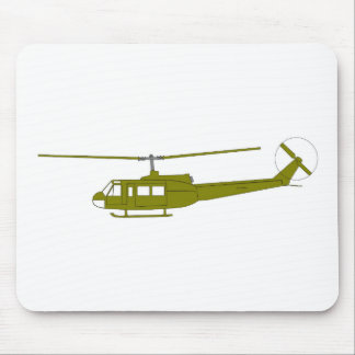 UH-1H 'Huey' Utility Helicopter Mouse Pad