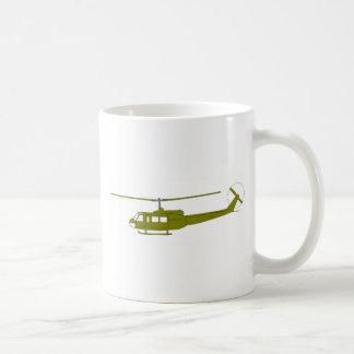 UH-1H 'Huey' Utility Helicopter Classic White Coffee Mug