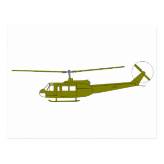 UH-1H 'Huey' Utility Helicopter Post Card
