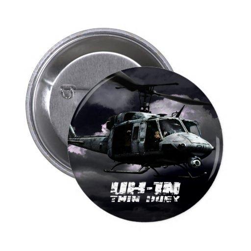 UH-1N Huey gemelo Pins