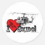 UH-1N I Love Skids 3in sticker