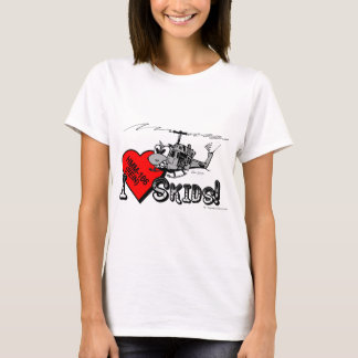 UH-1N I Love Skids fitted tee