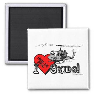 UH-1N I Love Skids magnet