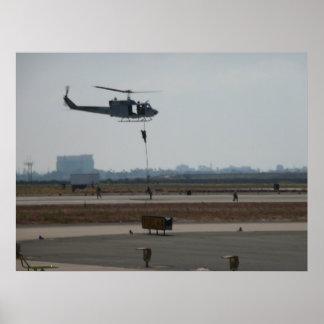 "UH-1N IROQUOIS ""Huey"" Print"