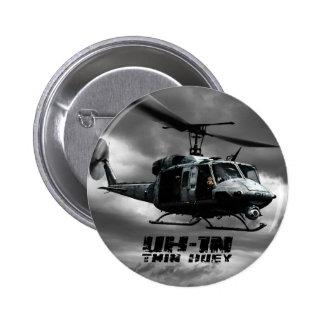 UH-1N Twin Huey Pinback Button