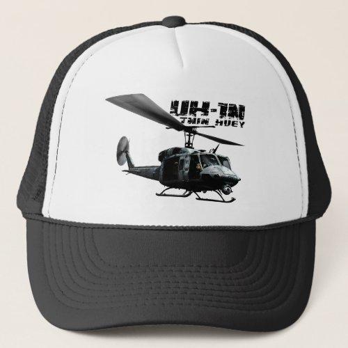 UH_1N Twin Huey Trucker Hat