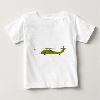 UH-60A Utility Helicopter Baby T-Shirt