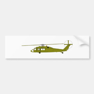 UH-60A Utility Helicopter Bumper Sticker