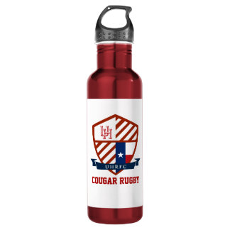 UH  Cougar Rugby Water Bottle