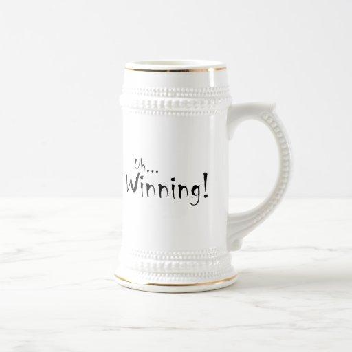 Uh… ¡El ganar! Tazas De Café