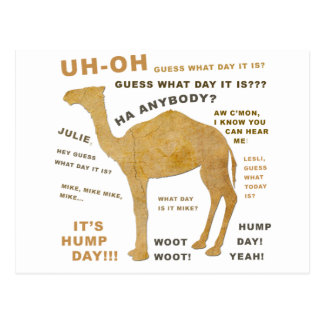 ¿Uh oh conjetura qué día es? ¡DÍA DE CHEPA!!! Postal