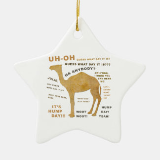 Uh Oh Guess What Day it Is? HUMP DAY!!! WOOT! Christmas Ornaments