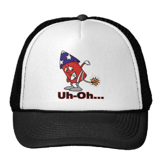Uh Oh Trucker Hat