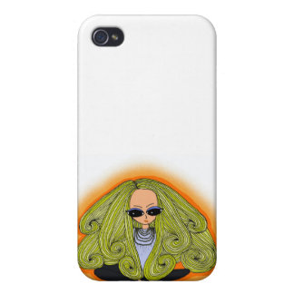 Uh-oh Hilary iPhone 4 Carcasa