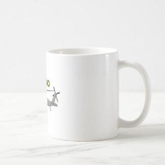 Uh Sixty Black Hawk Coffee Mug