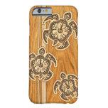 Uhane Honu Faux Wood Hawaiian Turtle Barely There iPhone 6 Case