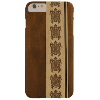 Uhane Honu Faux Wood Hawaiian Turtle Barely There iPhone 6 Plus Case