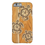 Uhane Honu Faux Wood Hawaiian Turtle Barely There iPhone 6 Case