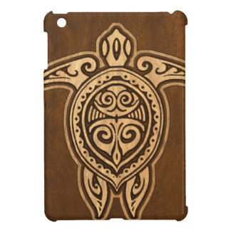 Uhane Honu Faux Wood Hawaiian Turtle iPad Mini iPad Mini Cover