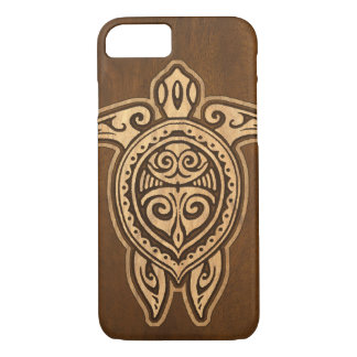 Uhane Honu Faux Wood Hawaiian Turtle iPhone 8/7 Case