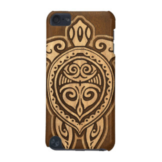 Uhane Honu Faux Wood Hawaiian Turtle iPod Touch (5th Generation) Cover