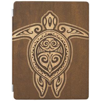 Uhane Honu FauxWood Hawaiian Turtle iPadSmartCover iPad Cover
