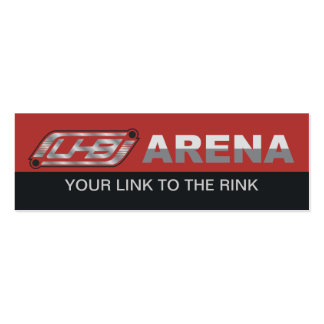 UHB Arena Double-Sided Mini Business Cards (Pack Of 20)