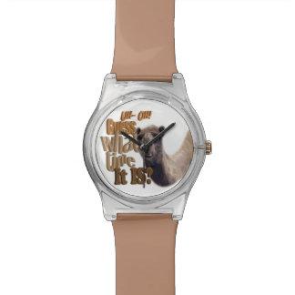 UhOh conjetura cuándo es camello del día de chepa Reloj De Mano