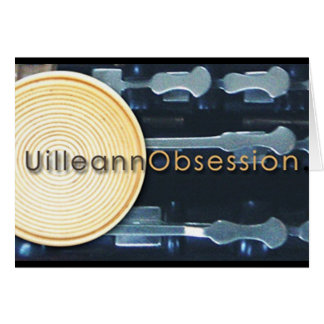 UilleannObsession.com Greeting Card