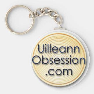 UilleannObsession.com Keychain